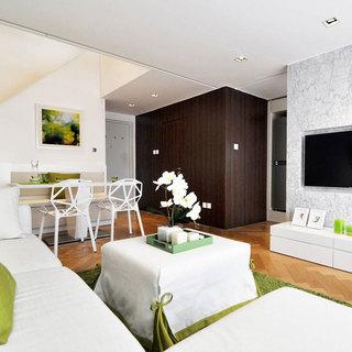 loft风格一居室60平米设计图纸
