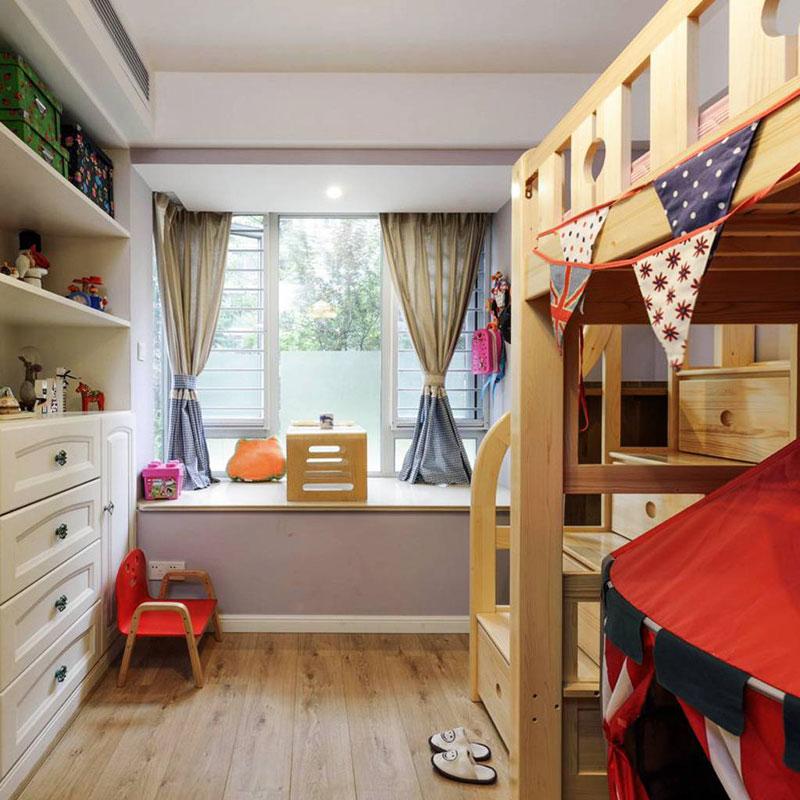 混搭儿童房设计效果图