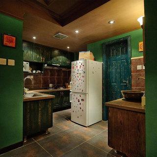 美式厨房设计效果图
