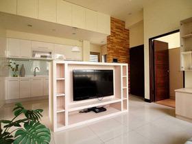 舒适简约宜家风 色调柔和两居室装修