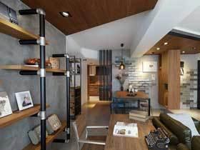 轻工业混搭风 68平森系公寓适合艺术创作者