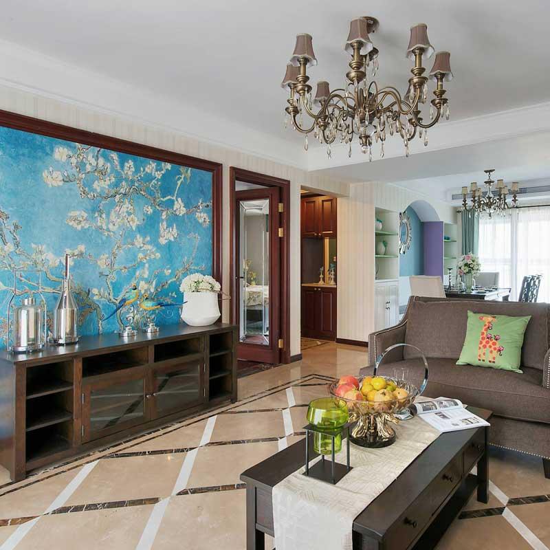 美式风格四房以上古典装修图片
