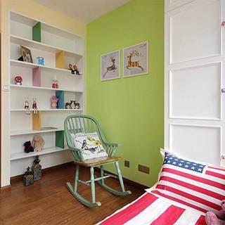 混搭清新儿童房设计图片