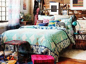自由浪漫 14个波西米亚风情卧室