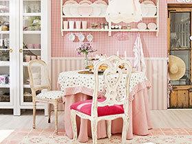 甜美餐厅来卖萌 10个可爱粉色餐厅设计