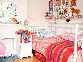 萌系少女心 12个可爱红色卧室