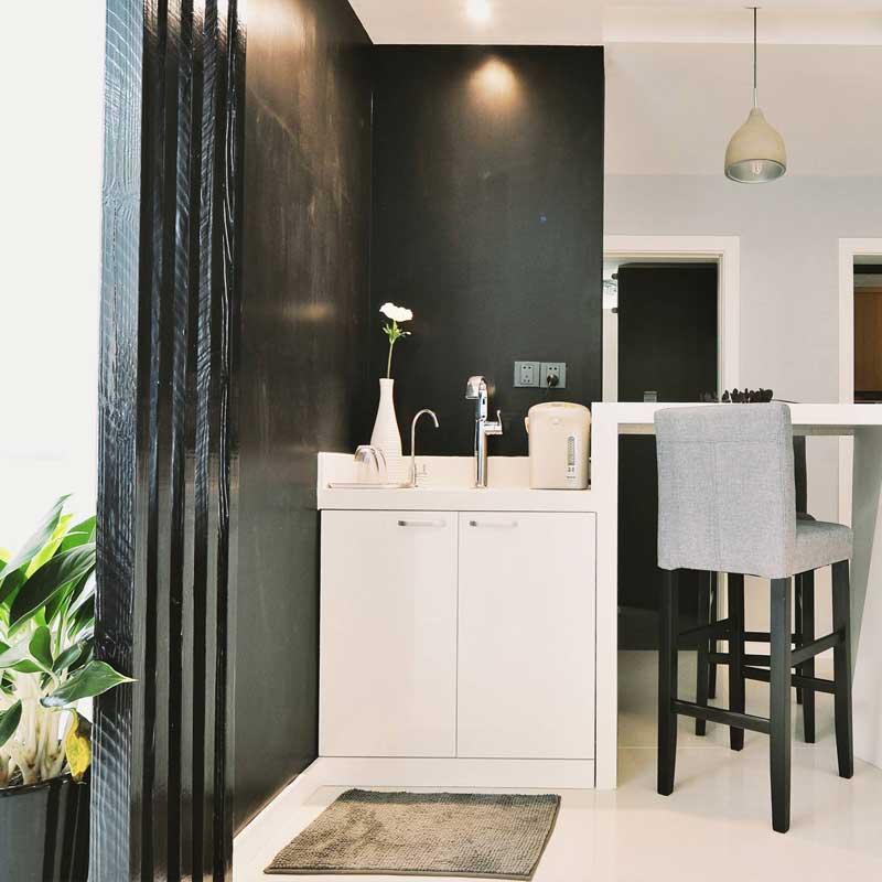 现代简约洗手台设计图片