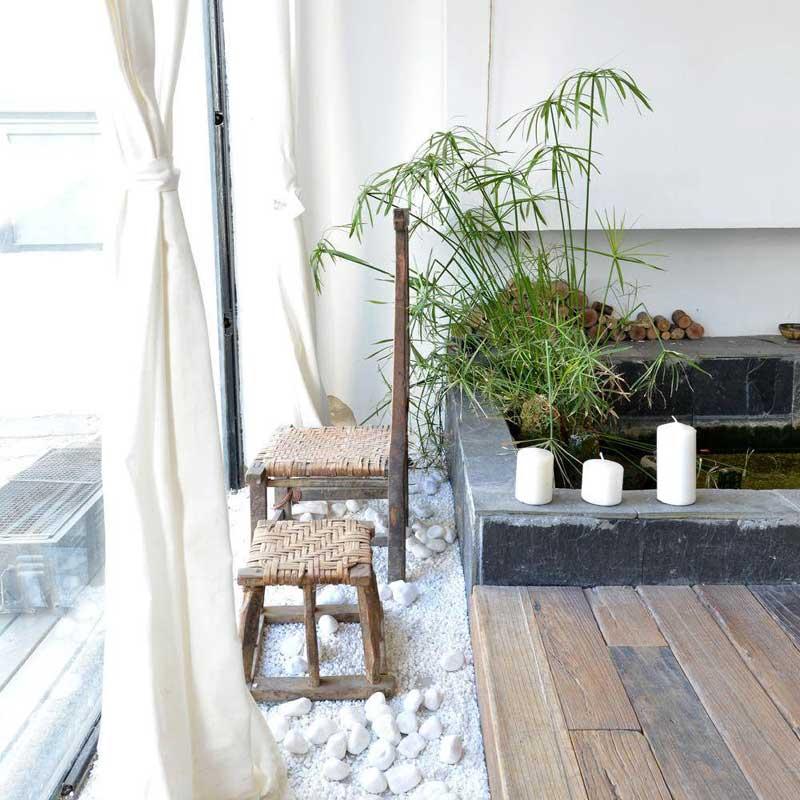 北欧清新阳台设计图片
