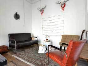 艺术怀旧北欧风公寓  给人自由自在的视觉感