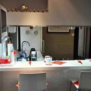 简约温馨厨房设计效果图