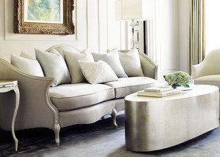 米色简欧客厅设计