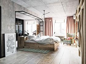 最清新 11款木质床设计