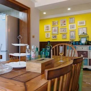 混搭风格三居室110平米设计图纸
