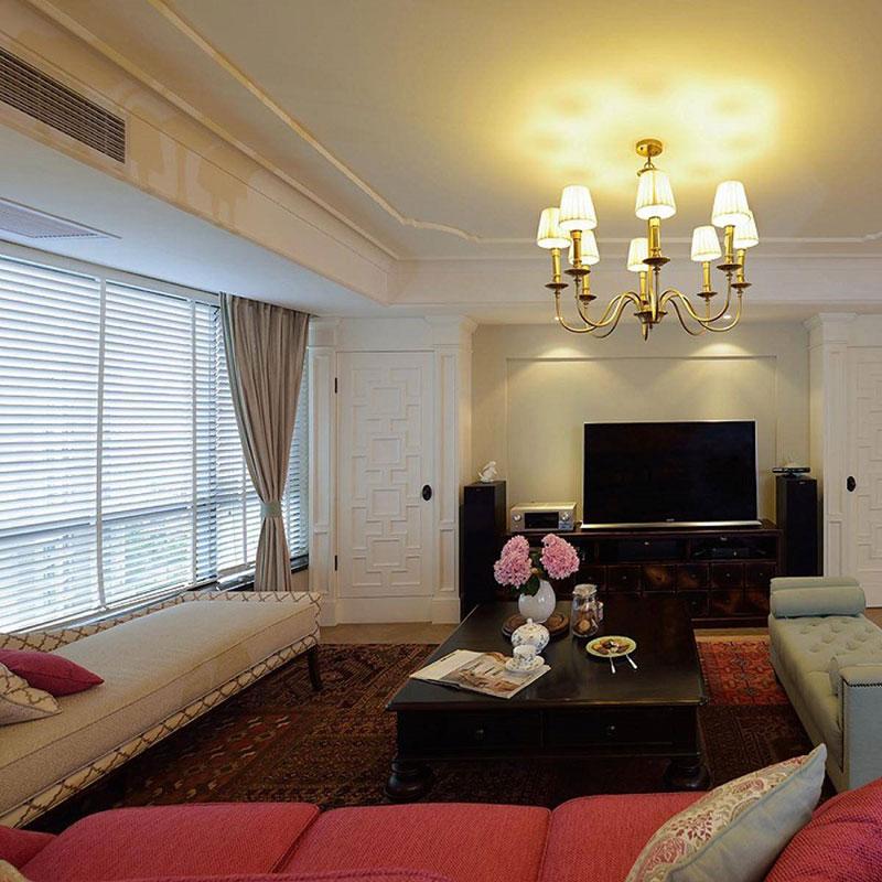 混搭风格公寓140平米以上装修效果图