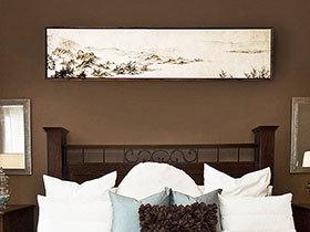 中式卧室背景墙 13款雅致卧室布置