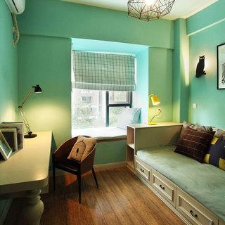混搭风格三居室120平米设计图