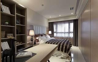 现代简约风格三居室100平米效果图