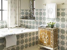 11个摩洛哥风情卫浴间 徜徉异域风情