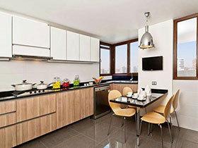 小户型也要玩转时尚 12个小户型厨房设计