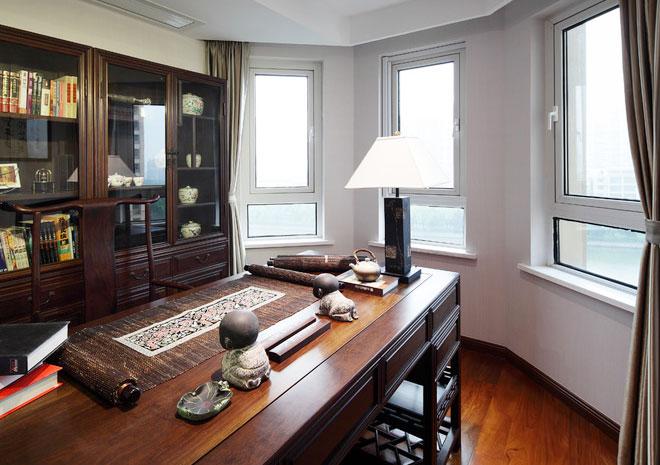 白色铝合金窗,书房铝合金平开窗
