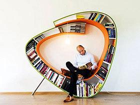 创意大集合 14个趣味创意书架设计