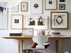 10个书房装饰画背景墙 抬头遇风景