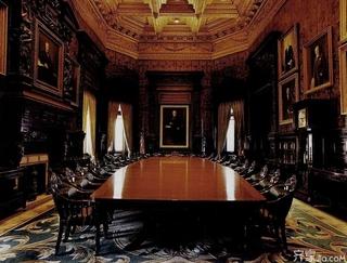 欧式会议室装修图片大全