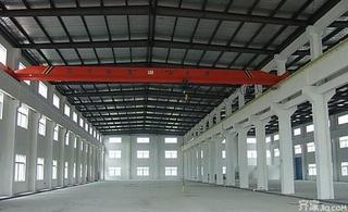 单层工业厂房效果图