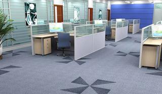 办公区地毯装修效果图
