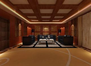 私人会所会议室装修效果图