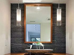 小空间里造温馨12款卫生间灯具设计