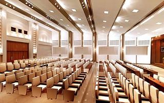 体育馆会议室设计效果图