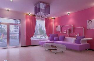美容院设计室内装饰效果图片欣赏