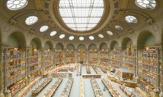 大型圖書館室內裝飾設計效果圖片