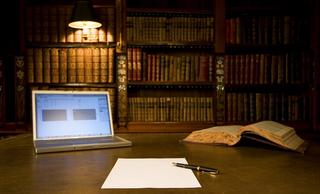 古典私人圖書館室內設計裝飾案例