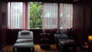 美容院窗帘装修图片欣赏