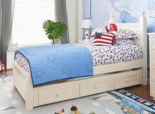 掀起收纳潮 11款儿童房卧室收纳床