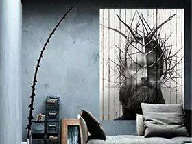 家居变身艺术馆 12个客厅艺术装饰画设计