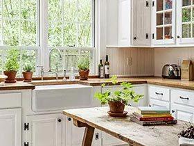 每天下厨也不累 15个有颜值的厨房设计