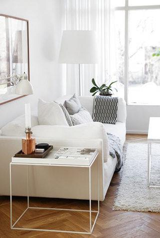 舒适米色客厅沙发效果图
