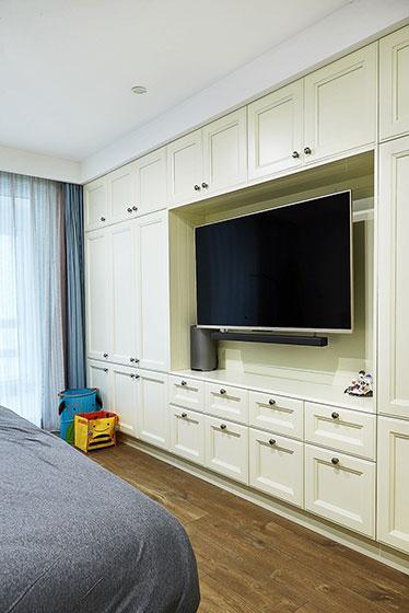 165平米大户型装修卧室电视背景墙设计