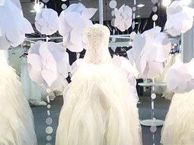 婚纱影楼橱窗效果图