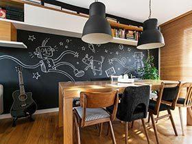 餐厅也俏皮 12个餐厅涂鸦黑板墙设计