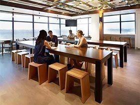办公室餐厅装修设计图
