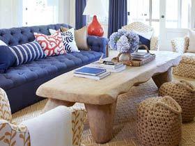 色彩静物 10个客厅沙发装饰图