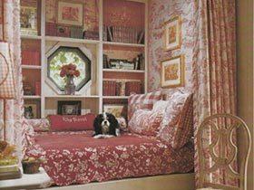 床铺飘窗二合一  11个卧室飘窗效果图