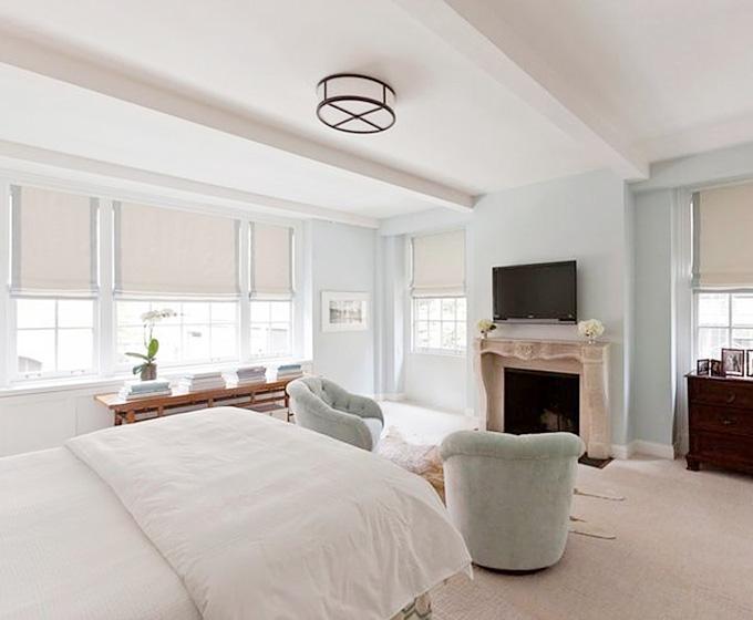 白色卧室效果图