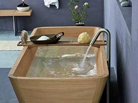 沉浸中的温情  10个浴室装修效果图