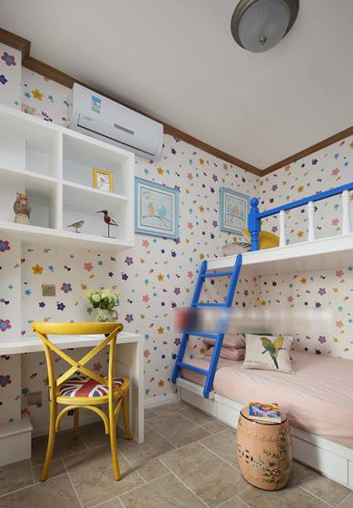 可爱清新儿童房装修效果图