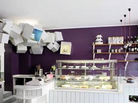蛋糕店豪华装修效果图